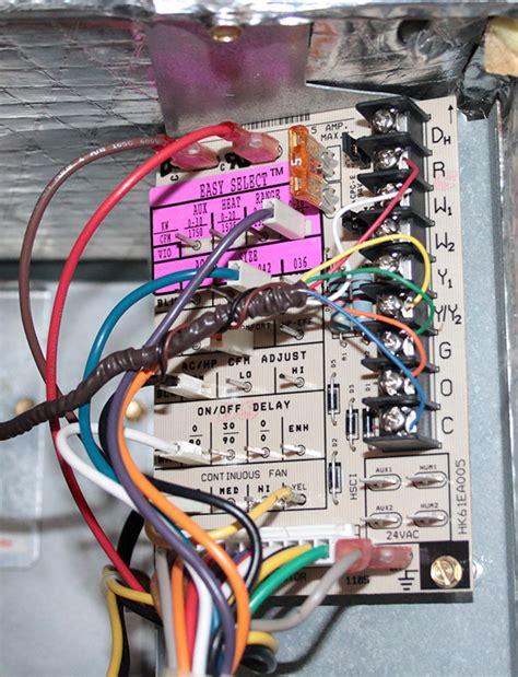 carrier heat pump blower fan will not cut off