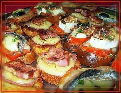 recette canapé recette de canapés croustillants