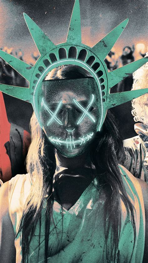 Wallpaper The Purge: Election Year, mask, best movies of ...
