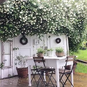 die schonsten ideen fur die terrasse wohnkonfetti With französischer balkon mit shabby style im garten