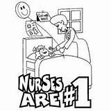 Coloring Pages Nurse Nurses Printable Nursing Week Clip Career Hospital Drawing Cartoon Florence Nightingale Topic Books Momjunction Care Female sketch template