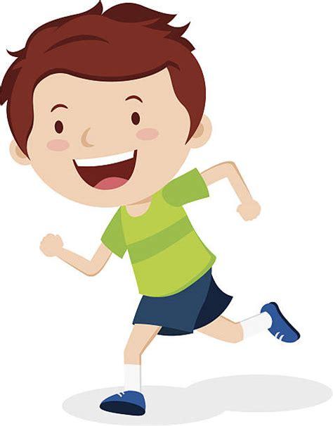 Clipart Running Royalty Free Boy Running Clip Vector Images