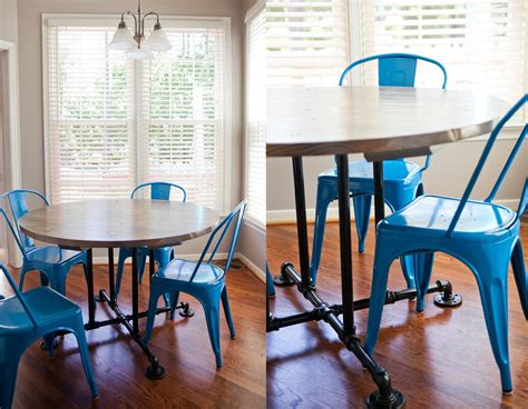 farmhouse table style  kitchen table  dining