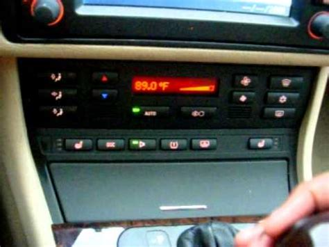 bmw  hvac automatic  climate control retrofit diy