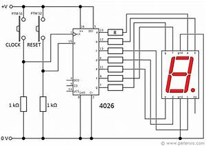 4026 Ic Counter Circuit