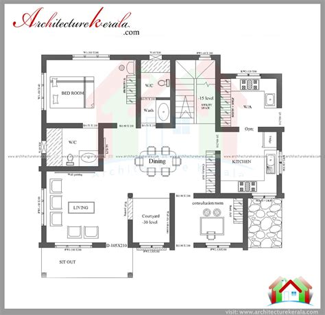 three home plans three bedroom house plan and elevation in 2000 sq ft
