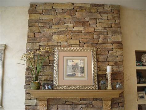 Decoration How To Build Stacks Stone Veneer Fireplace