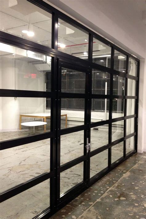 Garage Door Quieter by Glasspassingdoor View Aluminum Glass Garage Door