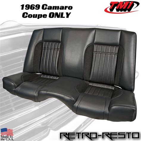 Upholstery Kit by 1969 Chevy Camaro Coupe Sport R Rear Seat Upholstery