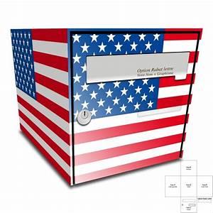 Stickers Boite Aux Lettres : sticker boite aux lettres drapeau americain ~ Dailycaller-alerts.com Idées de Décoration