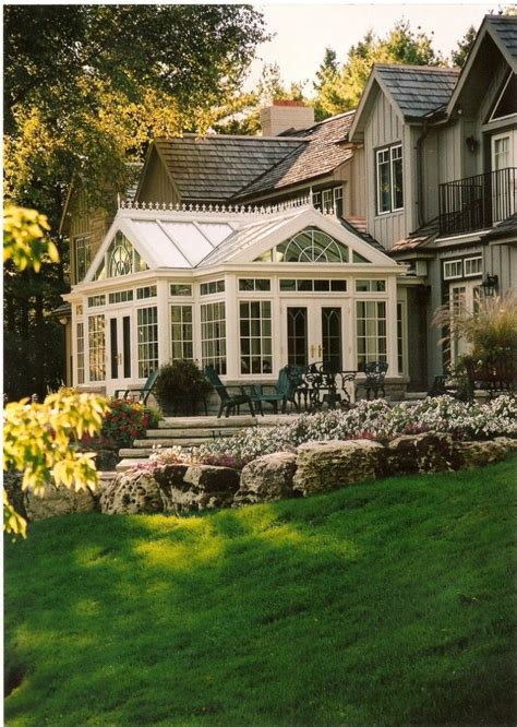Solarium Sunroom by This My Home Includes A Conservatory Home