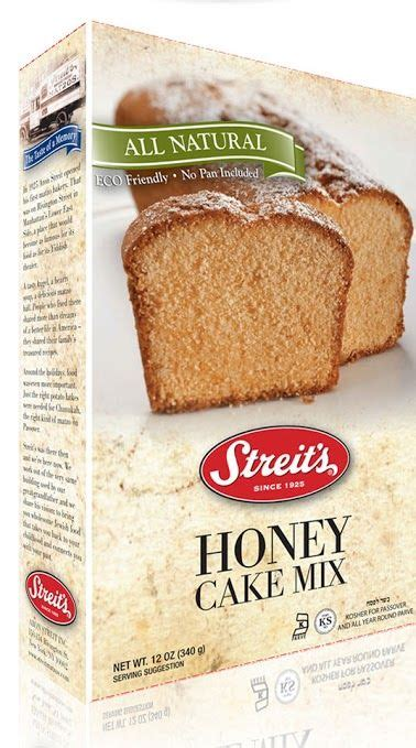 Whisk the batter until smooth. Streit's Honey Cake Mix | Cake mix, Honey cake, Food
