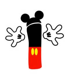 mickey mouse or minnie mouse number iron
