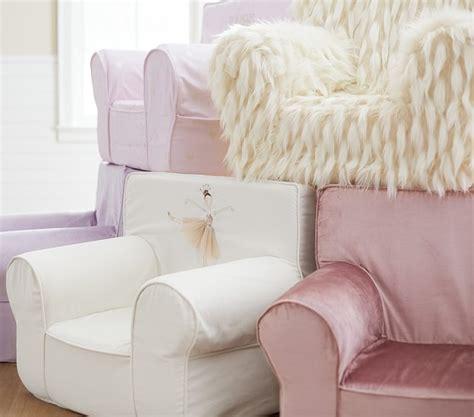 lavender rainbow anywhere chair slipcover llama faux fur anywhere chair pottery barn