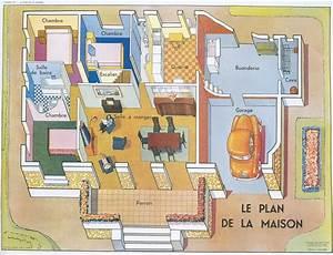 Piece De La Maison En Anglais : planches le plan de la maison ~ Preciouscoupons.com Idées de Décoration