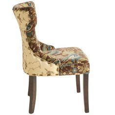 hourglass dining chair peacock floral hourglass dining chair peacock floral a seat