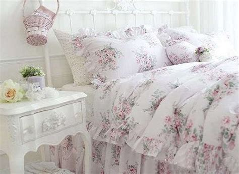 shabby chic bedding for less shabby and elegant pink roses cotton 3pc bedding sheet set