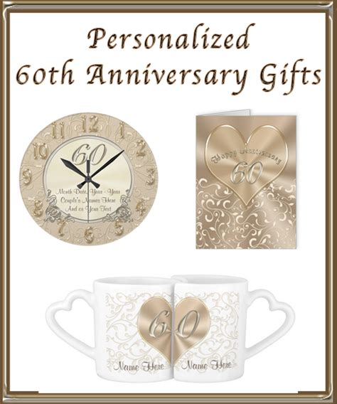 60th wedding anniversary gift personalized 60th wedding anniversary gift ideas