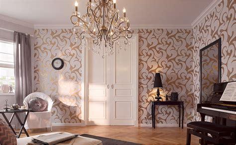 tapeten fuers wohnzimmer bei hornbach schweiz