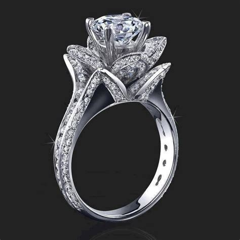 bud engagement ring source http www etsy