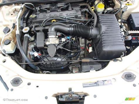2004 Chrysler Sebring Engine by 2005 Chrysler Sebring Convertible 2 4 Liter Dohc 16 Valve