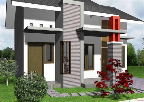 tampak depan rumah minimalis  lantai type  desain