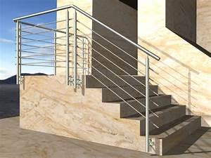 Geländer Für Treppe : gel nder treppe mit podest und abschluss mit edelstahl handlauf f llung 6 streben ~ Markanthonyermac.com Haus und Dekorationen