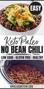 Keto Low Carb Chili Recipe