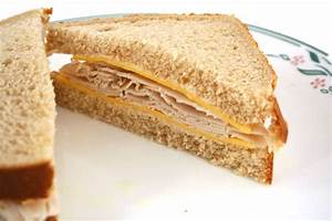 Turkey And Cheese Sandwich Clipart
