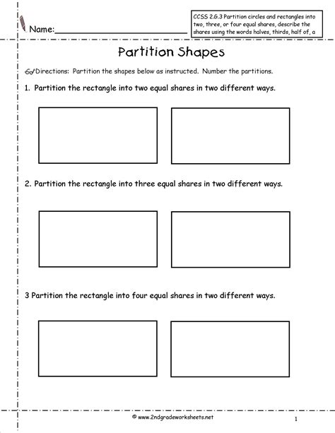 division using partitioning year 3 worksheets