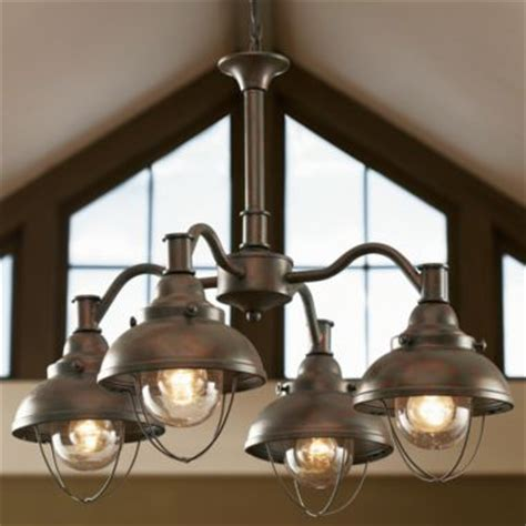 ceiling lodge rustic country western antique bronze