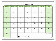 Calendários junho 2019 DS Michel Zbinden PT