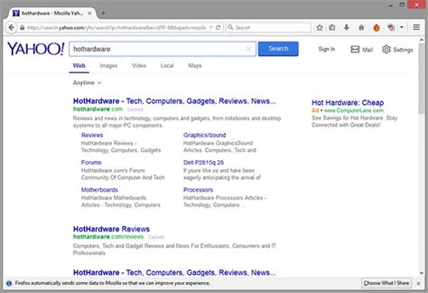Firefox 34 Gives Google The Boot, Makes Yahoo Default Search Engine