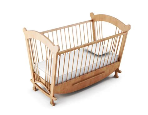 Royalty Free Empty Crib Clip Art, Vector Images
