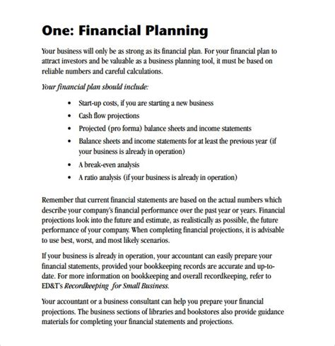 Your business plan is the foundation of your business. FREE 9+ Sample Financial Business Plan Templates in Google Docs   MS Word   Pages   PDF