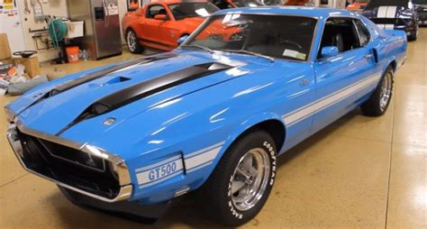 extremely rare 1970 ford mustang shelby gt500 american