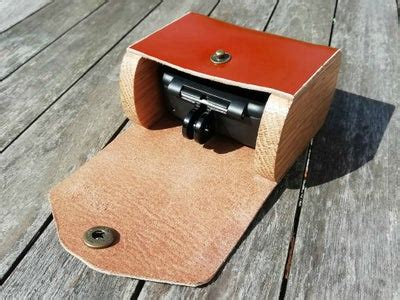 leather case gopro steps pictures