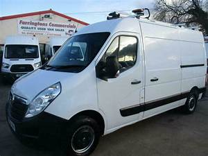 2015 Vauxhall Movano Workshop Van Fitters Van Utility Van Maintenance Van