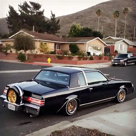 lowered muscle cars buick regal low rider g body vehicles pinterest