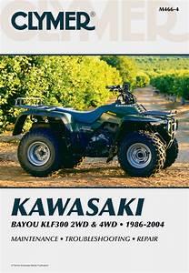 Kawasaki Bayou Klf300 2wd  1986
