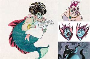 Early Sketches of the Greatest Female Disney Villains ...