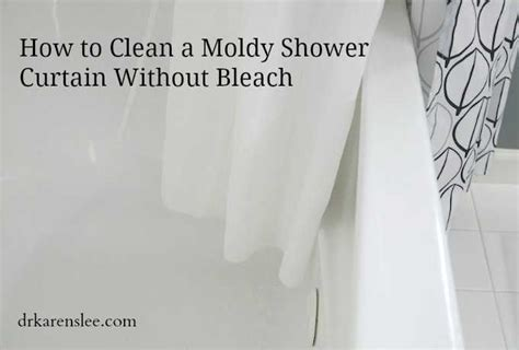 how to clean a shower curtain how to clean your shower