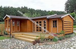 Vente Chalet Bois Habitable : kit chalet bois habitable chene m habitable terrasse ~ Melissatoandfro.com Idées de Décoration
