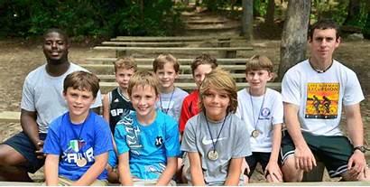Camp Summer Boys Cabin Christian Creek Falling
