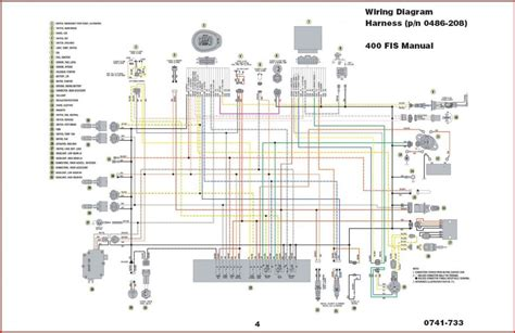 Wiring Diagram With Schematic For A 1998 400 4x4 Arctic Cat Atv by 2004 Arctic Cat 400 Wiring Diagram Atvconnection Atv