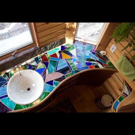 mosaic countertop best 25 mosaic bathroom ideas on moroccan