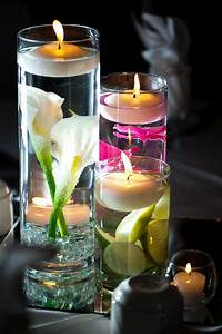 Floating, Candle, Centerpieces