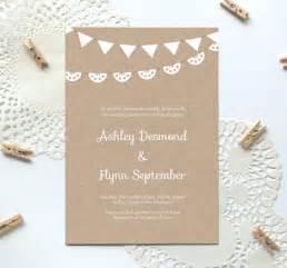 free sle wedding invitations free printable wedding invitation template