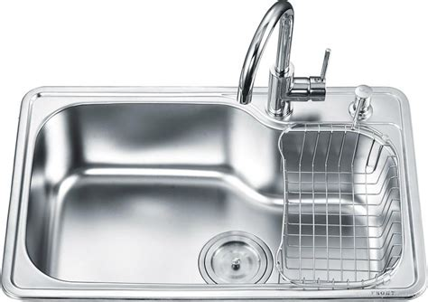 single bowl stainless steel kitchen sink stainless steel single bowl kitchen sink oa 7246 ouert 9307