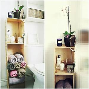 les 25 meilleures idees de la categorie rangement de With idee couleur peinture toilette 10 video bien eclairer une salle de bains sur deco fr